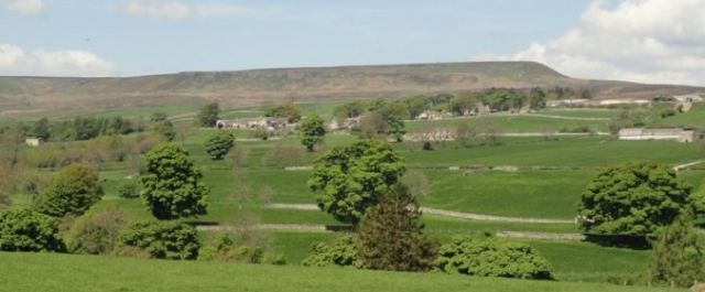 Melmerby, Coverdale, East Scrafton, Yorkshire Dales, Penhill