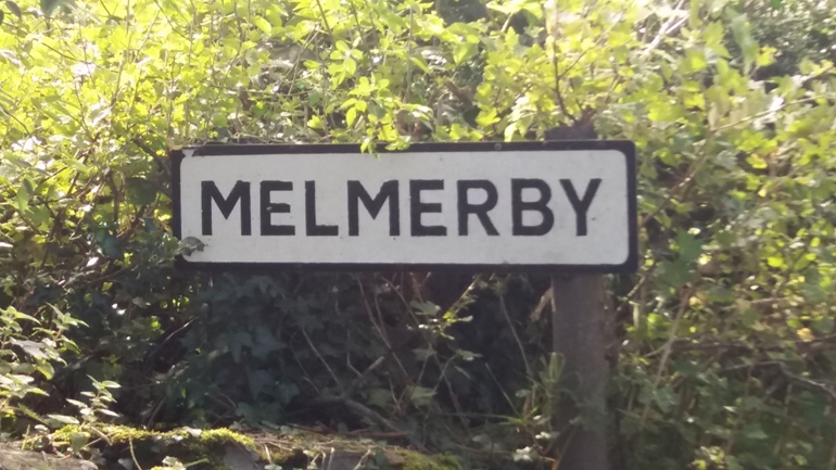 Melmerby in Coverale village signpost