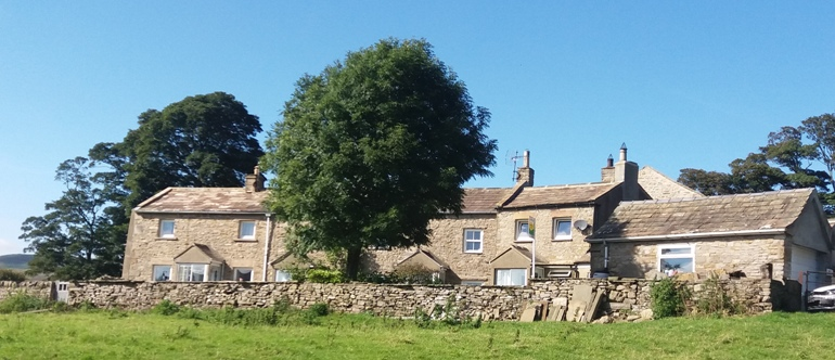 Stone Cottages, village, Melmerby